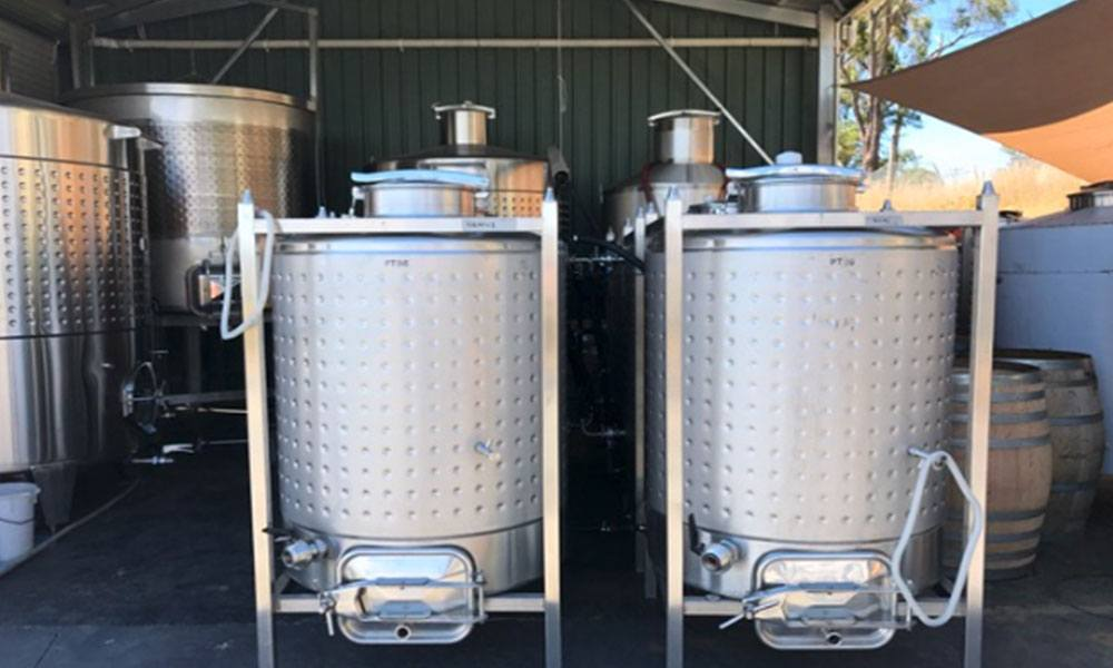 Tanks Arrive Winery