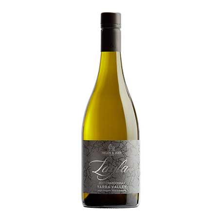 2017 Layla Chardonnay bottle shot